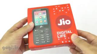 Reliance JioPhone Review (हिन्दी), unboxing, how to get from store, features, terms & conditions