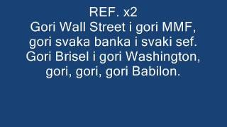 Frenkie - Gori lyrics