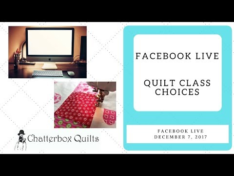 Online or In Person: Which is the Best Quilt Class Choice for You?