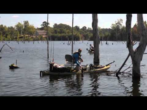KATS 2015 Classic Championship - Competitive Kayak Angler Fishing