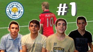 CARRERA COOPERATIVA DE A 4 | PREMIER LEAGUE | FIFA 15 Gameplay PS4 1080p PC Leicester