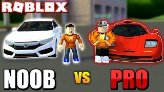 NOOB vs PRO in Ultimate Driving! Ft. My BIGGEST Fan! (Roblox)