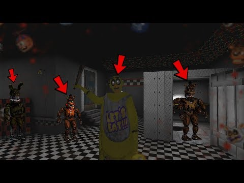 FIVE NIGHTS AT FREDDY'S IN GRANNY - NEW MOD GRANNY (FULL GAMEPLAY)