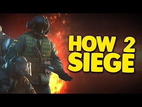 HOW 2 SIEGE! - Rainbow Six: Siege FUNTAGE!