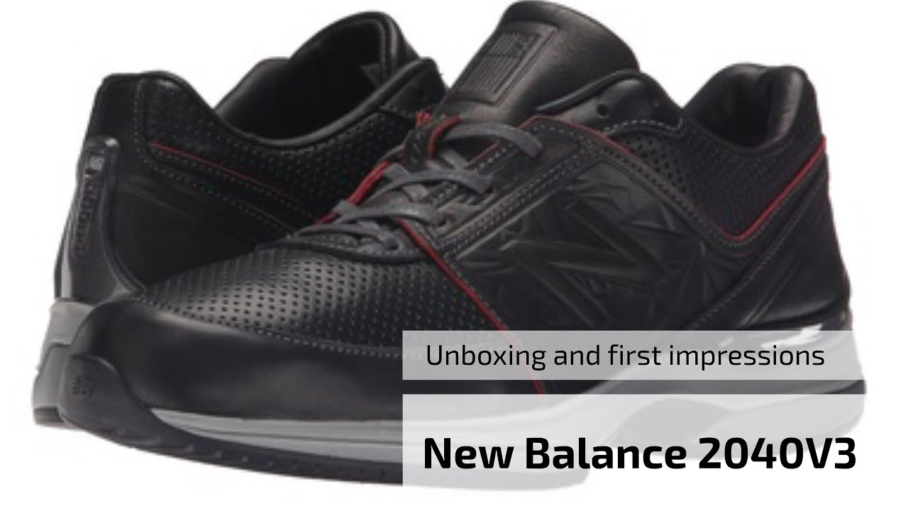 68524bc05912 New Balance 2040V3 Sneakers Unboxing and first impressions in 4K ...
