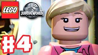 LEGO Jurassic World - Gameplay Walkthrough Part 4 - Restoring Power! (PC)
