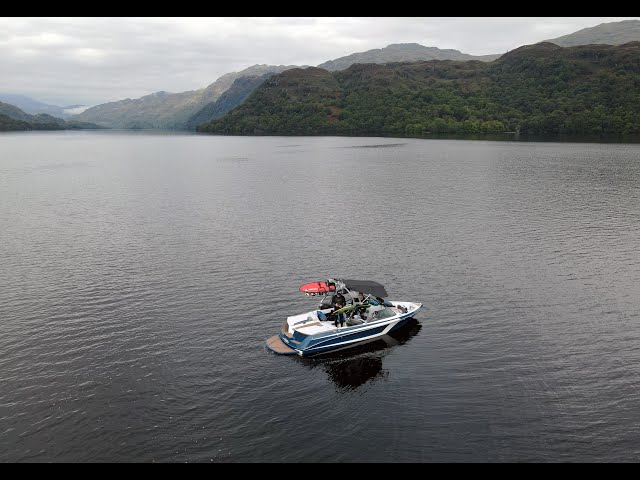 Day of Wake : Loch Lomond : Sep 2020 : Super Air Nautique