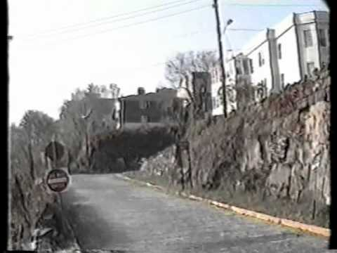 Streets of Hoboken and Weehawken NJ, 1989
