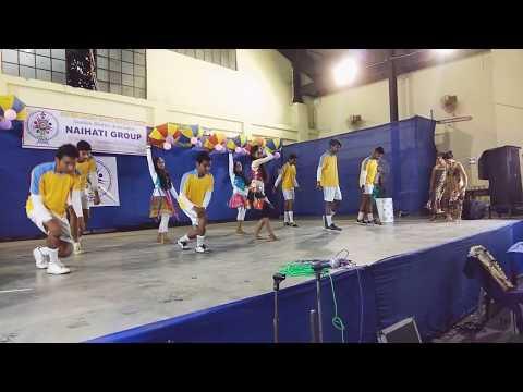 Waka Waka (Shakira) Blasting Dance Performance By Halisahar Group Old