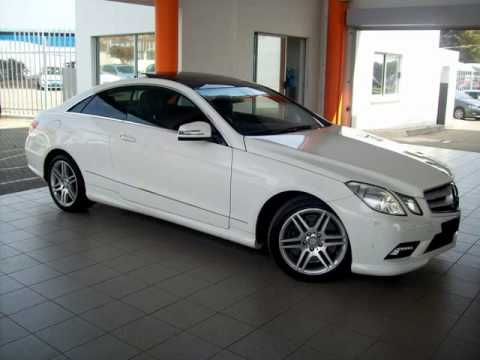 2010 mercedes benz e class e500 coupe auto for sale on auto trader south africa youtube. Black Bedroom Furniture Sets. Home Design Ideas