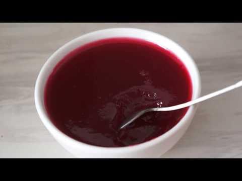 Желе из красной смородины. Рецепт на зиму.