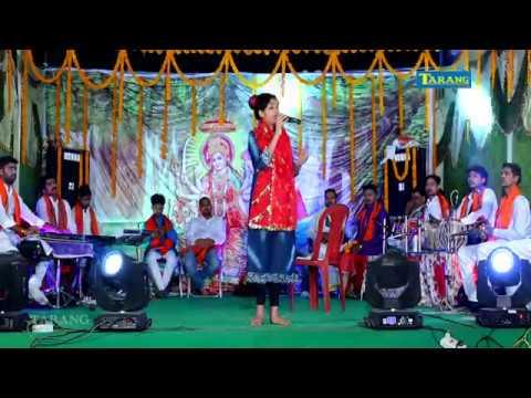 Anjali Bhardwaj Live Bhakti Song  - Sarswati Vandna - shooting Video rashes - Bhakti Bhajan