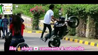 💃Girlfriend💞impress For Bike Stunt 👉best WhatsApp Status
