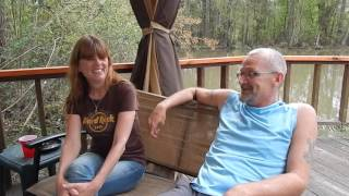 Indian Creek Campground Louisiana Owner Chat - Ric and Melody