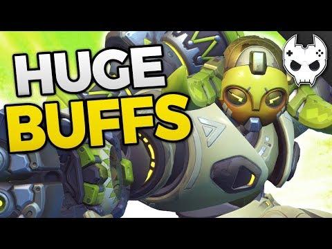Overwatch HUGE BUFFS - Orisa, Junkrat, Widowmaker, Roadhog