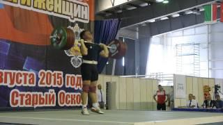 Чемпионат России 2015, весовая категория 94 кг