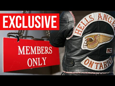 Exclusive tour inside a Hells Angels clubhouse