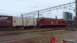 2019.10.22 貨物列車(4090列車)秋田駅到着