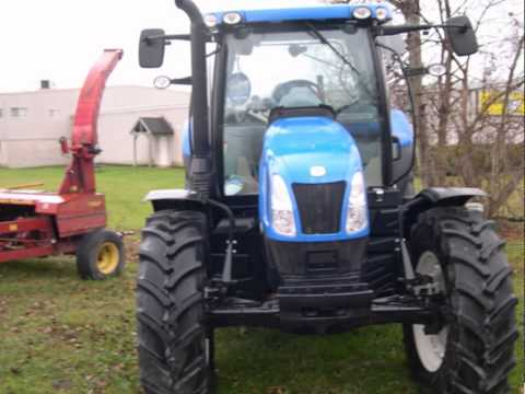 New Holland T6.150 Tractor - McCauley Equipment Sales