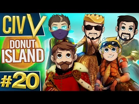 Civ V: Donut Island #20 Talking or Playing?