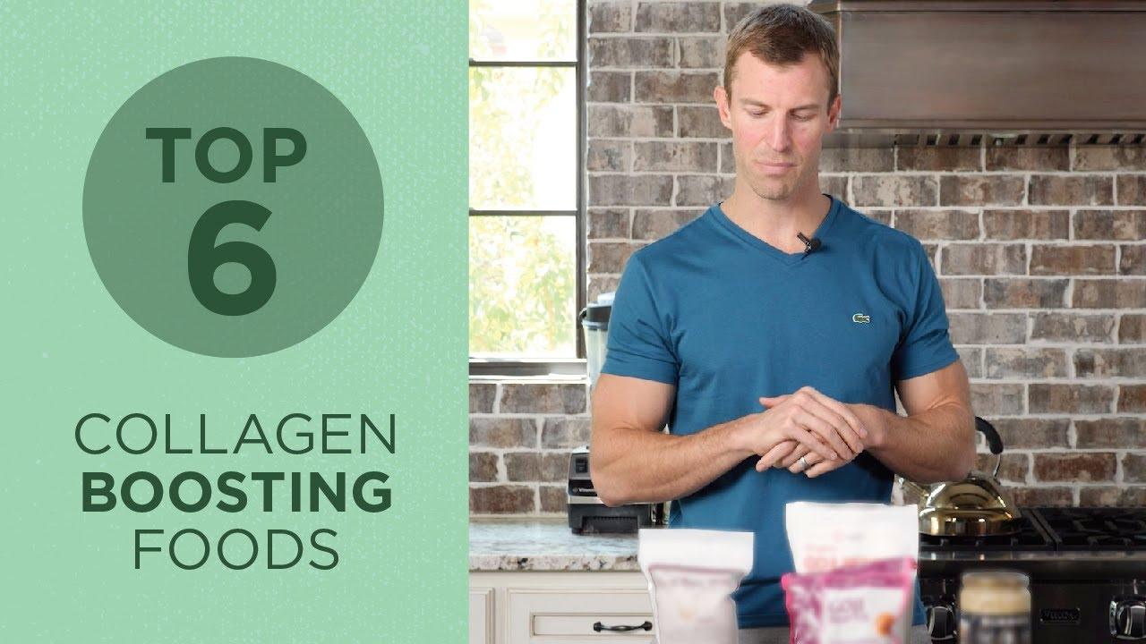 Top 5 Collagen Building Foods | Best Foods to Eat for Graceful Aging | Dr. Josh Axe
