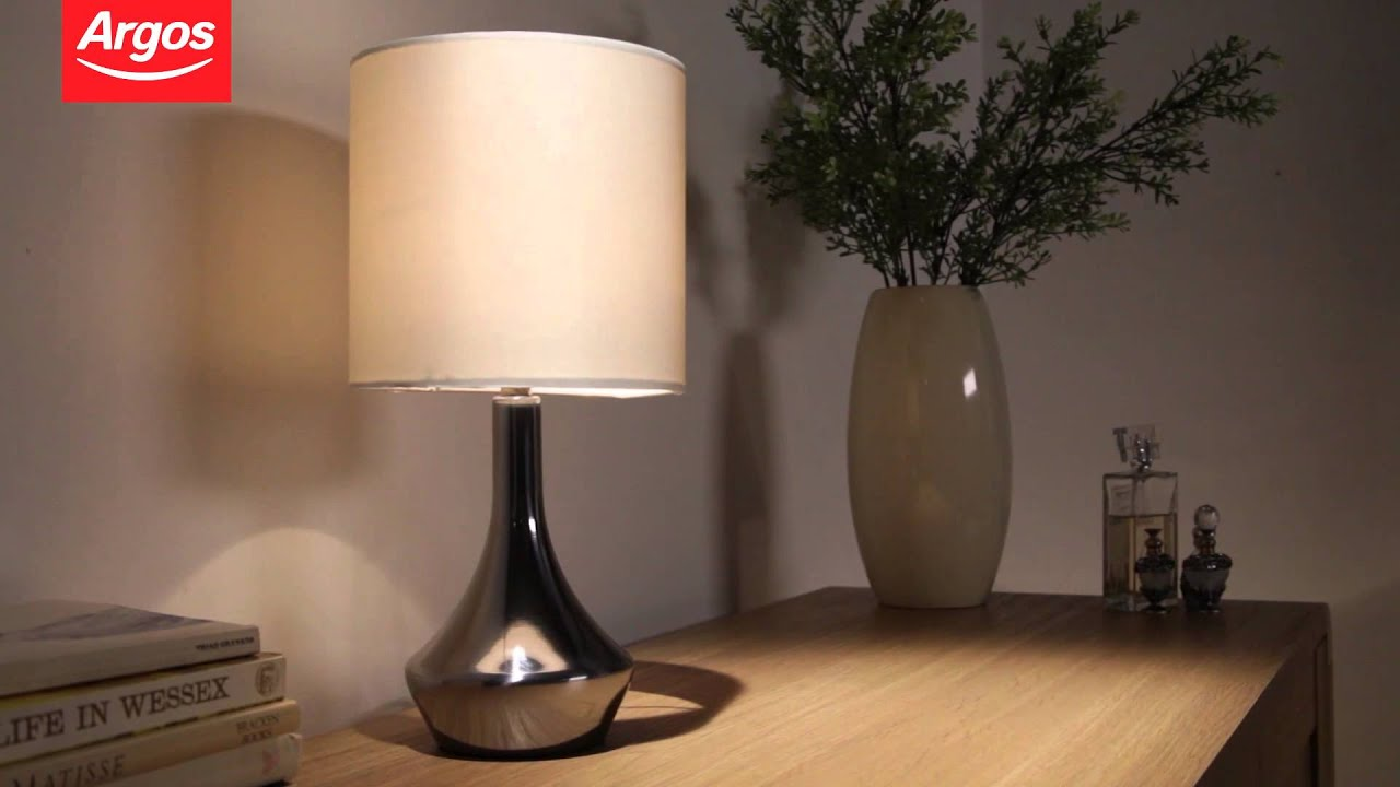 Lovely Buy ColourMatch Pair Of Touch Table Lamps Cream