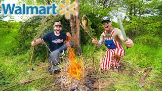 ultimate-walmart-survival-challenge-catch-and-cook