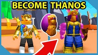How To Get The Infinity Gauntlet and Become Thanos in Roblox