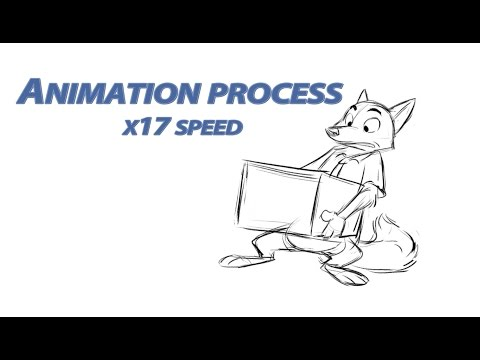 Nick and the box - animation process