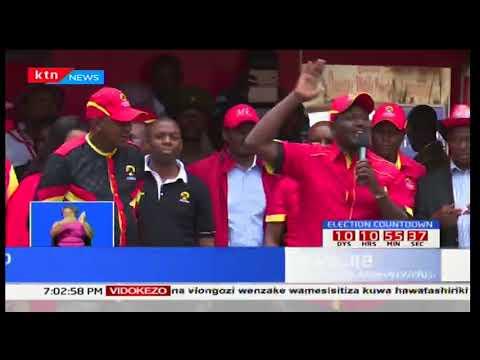 Kampeni za Jubilee:Uhuru Kenyatta asema nidhamu lazima izingatiwe katika maandamano