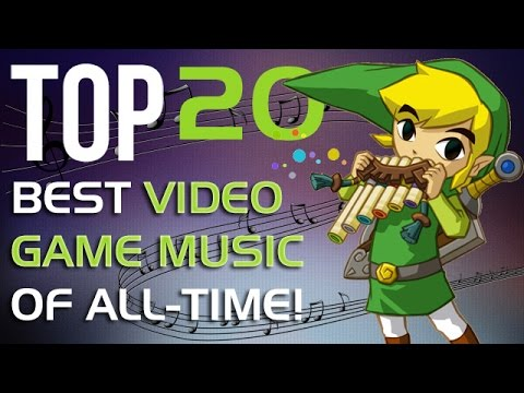 The 20 BEST Video Game Soundtracks of All-Time in 7 minutes!