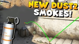 CS:GO - Must Know SMOKE GRENADES for NEW DUST2!