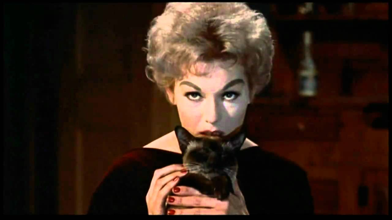 Before there was Sabrina and Salem, there was Kim Novak and Pyewacket.