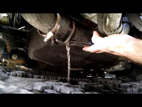 VW Common Rail TDI Intercooler Icing / hydrolock problem.