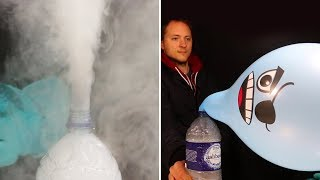The Most Amazing Giant Balloon Dry Ice Experiment | Easy Science Experiments To Do At Home