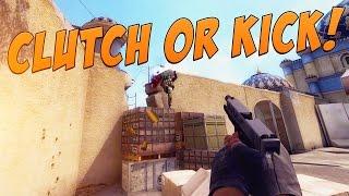 CS:GO (Funny Moments) - Clutch or Kick (CS:GO Competitive trolling pe românește)