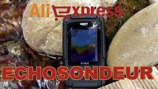 Unboxing et Test Sondeur Aliexpress 120  le LUCKY FF718LiCD 2.8