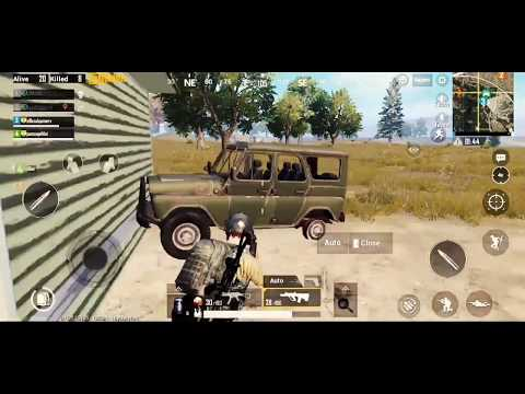 UMP 9 POWER 2 SQUAD FINISH  ( 10+ KILLS WITH 4X ) { PUBG - MOBILE }  ―YOUTUBE GAMER ―