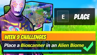 Place a BIOSCANNER in an Alien Biome EASY GUIDE & Locations (Fortnite)