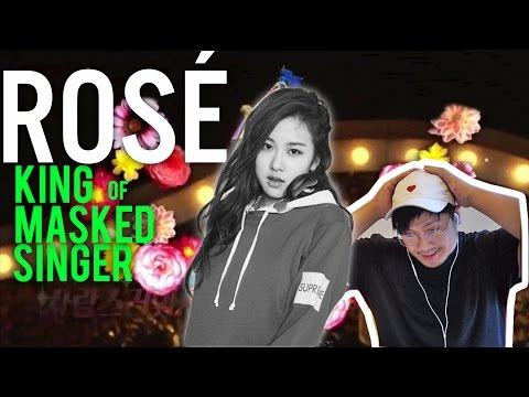 ROSÉ is the KING OF MASKED SINGERS (reaction) + Blackpink x LG ad