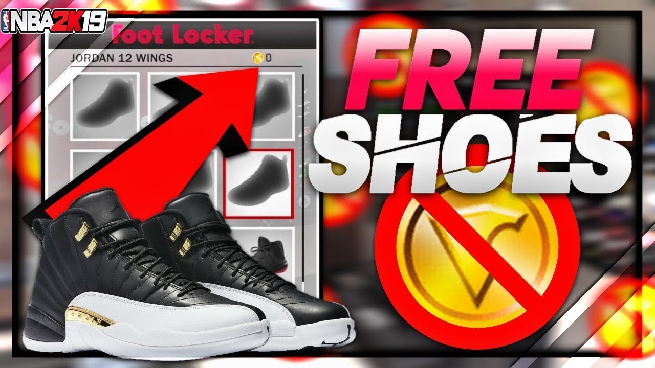 FREE SHOES IN MYCAREER FOR NBA 2K19