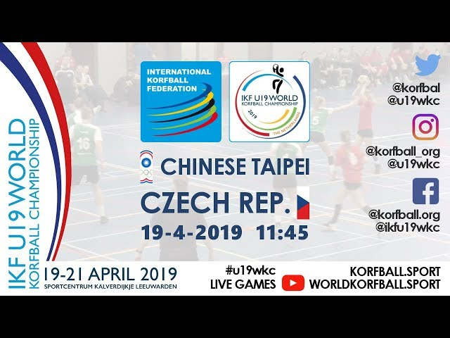 IKF U19 WKC 2019 TPE - CZE