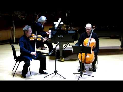 Pavel Vernikov e Trio Čajkovskij - Pëtr Il'ič  Čajkovskij, Trio elegiaco op.50 (estratto)