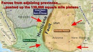 Geologic Triple Junction of Southern Utah