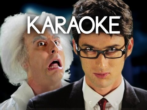 [KARAOKE ♫] Doc Brown vs Doctor Who. Epic Rap Battles of History. [INSTRUMENTAL]