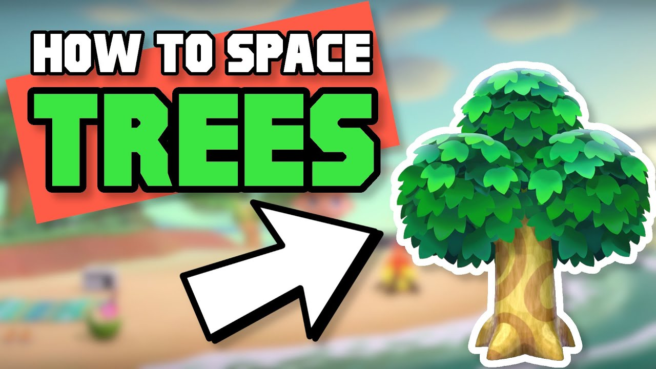 How To Correctly Space Trees Make An Orchard In Animal Crossing New Horizons Youtube In 2021 Animal Crossing Space Animals New Animal Crossing
