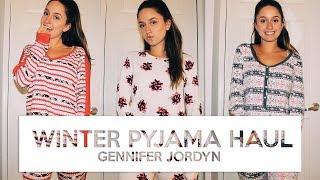 HUGE VICTORIA'S SECRET PYJAMA COLLECTION | Winter Sleepwear Style