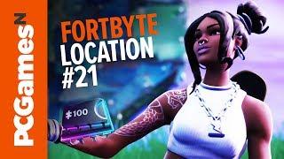 Fortnite Fortbyte guide - Number #21