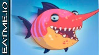 New fish sword EATME.IO CHALLENGE sword legendary - Новая рыбка - Рыба меч