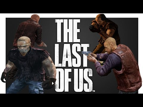 The Last of Us Objective Mode | NPC / Non Playable Characters (Closer Look)
